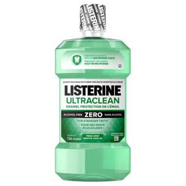 Listerine Ultraclean Enamel Protection Zero
