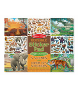 Melissa & Doug Reusable Sticker Pad Jungle & Savanna