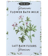 Dot & Lil Geranium Flower Milk Bath Sachet