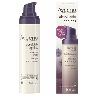 Aveeno Absolutely Ageless Pre-Tox Leave On Mask Lotion