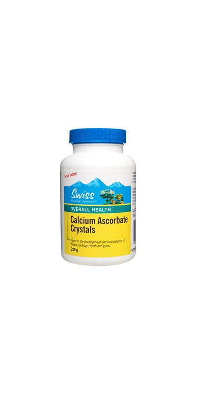 Swiss Natural Sources Calcium Ascorbate Crystals