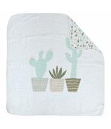 Perlimpinpin Cotton Muslin Blanket Cactus