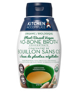 Kitchen Accomplice Organic Plant-Based Vegan No-Bone Broth
