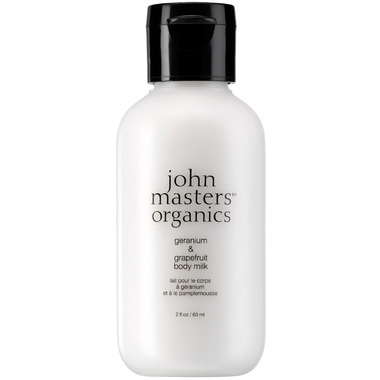 John Masters Organics Geranium & Grapefruit Body Milk Travel Size