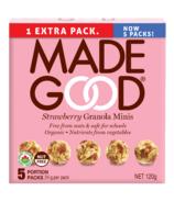 MadeGood granola minis fraise
