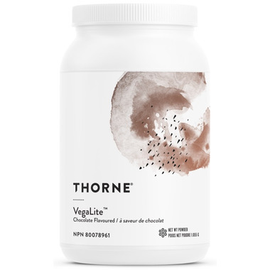 Thorne Research VegaLite Chocolate Protein Powder
