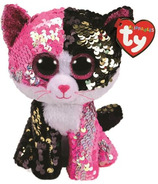 Ty Flippables Malibu The Sequin Cat Medium