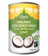 Cha's Organics Light Coconut Milk