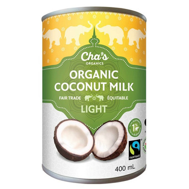 Cha\'s Organics Light Coconut Milk
