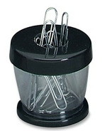 Gem Paper Clip Dispenser