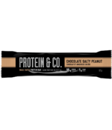 NutraPhase Protein & Co. Chocolate Salty Peanut Protein Bar