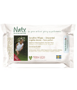 Naty by Nature Babycare Eco Sensitive Wipes Travel Pack
