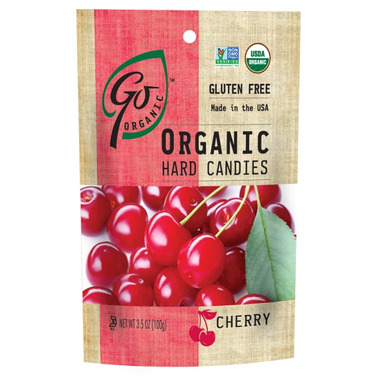 Go Organic Cherry Hard Candies