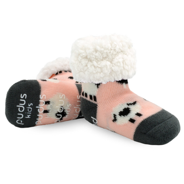 Pudus Classic Sheep Blush Socks Kids