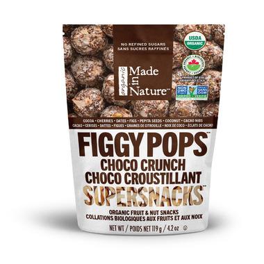 Made in Nature Organic Figgy Pops Choco Crunch