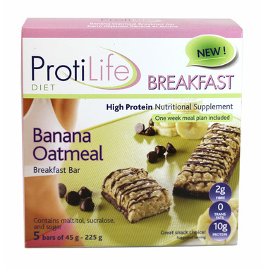 ProtiLife Banana & Oatmeal Breakfast Bar