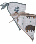 Little Unicorn Cotton Muslin Bandana Bison