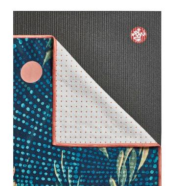 Manduka Yogitoes Skidless Towel Flora