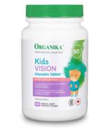 Organika Kids Vision Chewables Comprimés