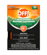 Off! Deep Woods Wipes Deet Free
