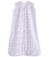 Halo Innovations Sleepsack Wearable Blanket Aster Flowers Purple Cotton