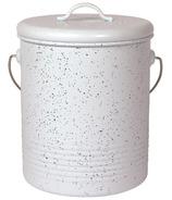 Now Designs Compost Bin White Speckle