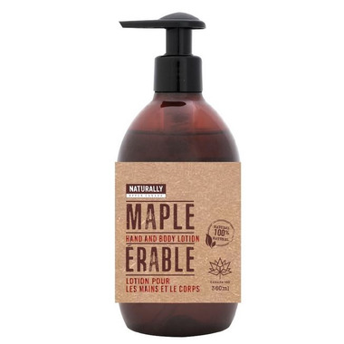 Upper Canada Soap Naturally Hand and Body Lotion Maple