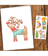 PiCO Temporary Tattoos Christmas Card & Tattoos