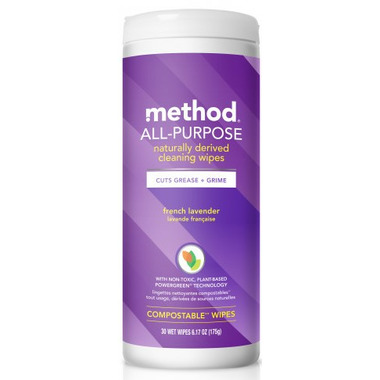 Method All-Purpose Cleaning Wipes French Lavender