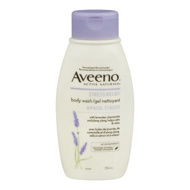 Aveeno Stress Relief Body Wash Gel
