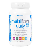 Prairie Naturals Multi-Force Daily Iron-Free Multivitamin & Mineral