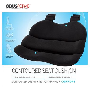 ObusForme Contoured Seat Cushion