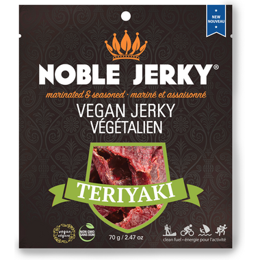 Noble Vegan Jerky Teriyaki