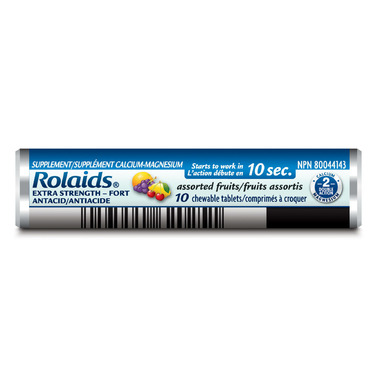 Rolaids Extra Strength Tablets Fruit Roll