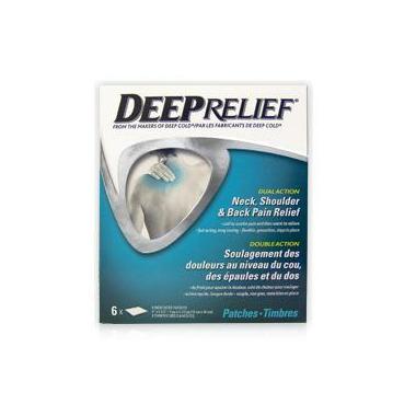 Deep Relief Dual Action Neck, Shoulder & Back Pain Relief