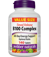 Webber Naturals B100 Complex Value Size Timed Release