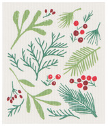 Now Designs Swedish Dishcloth Bough & Berry