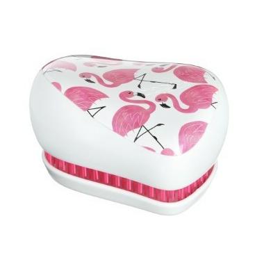 Tangle Teezer Compact Styler Detangling Hairbrush Skinny Dip Pink Flamingo