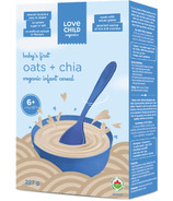 Love Child Organics Oats & Chia Infant Cereal