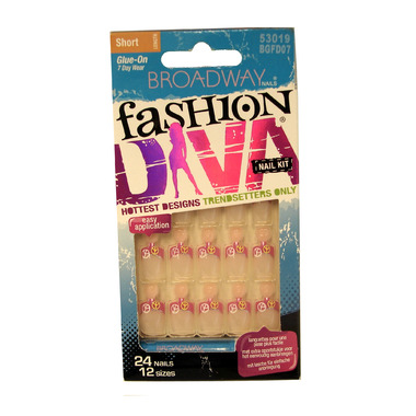 Broadway Nails Fashion Diva Nail Kit