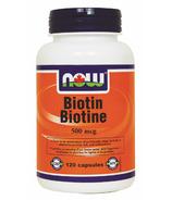 NOW Foods Biotin 500 mcg