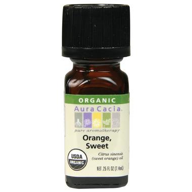 Aura Cacia Orange Sweet Organic Essential Oil