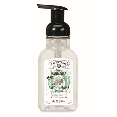 J.R. Watkins Vanilla Mint Foaming Soap
