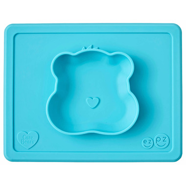 ezpz Care Bears Bowl Wish Bear Teal