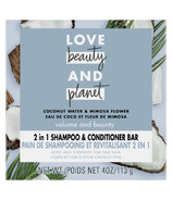 Love Beauty and Planet Shampoo & Conditioner Bar 2 in 1 Coconut Water