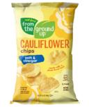 From the Ground up Cauliflower Potato Chips Salt & Vinegar