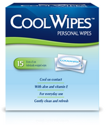 MONISTAT CoolWipes Personal Wipes