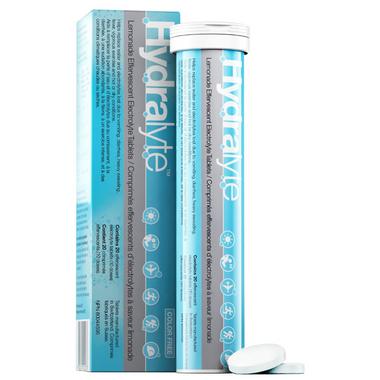 Hydralyte Lemonade Effervescent Tablets