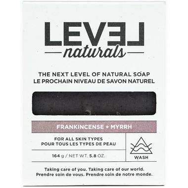 Level Naturals Soap Bar Frankincense + Myrrh