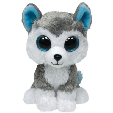 Ty Beanie Boo\'s Slush The Husky Dog